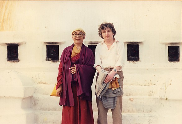 Karma Thinley Rinpoche and Lama Jampa Thaye