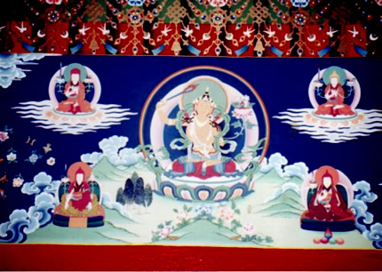 Manjushri emanations and the First Karma Thinleypa